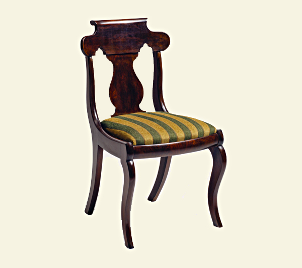 Antique Reproduction Empire Chair - Donald J. Sutkus Custom Furniture - Antique Reproduction Empire Chair